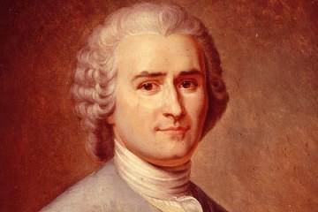 Jean Jacques Rousseau. 1712 - 1778. Importante filósofo, teórico político, escritor e compositor autodidata suíço. É considerado um dos principais filósofos do iluminismo e um precursor do romantismo