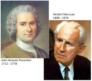 herbert marcuse e J. J Rousseau