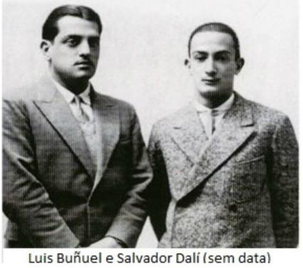 Luiz Buñuel e Salvador Dalí