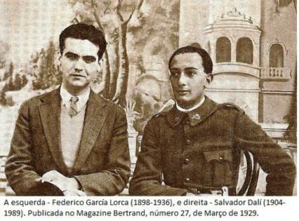 Salvador Dalí e Federico Garcia Lorca